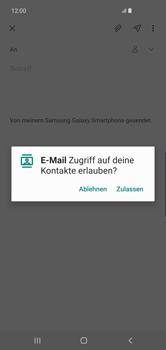 Samsung Galaxy S10 Plus - E-Mail - E-Mail versenden - Schritt 6