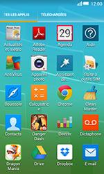 Alcatel OT-5050X Pop S3 - Photos, vidéos, musique - Créer une vidéo - Étape 3