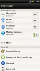 HTC One S - Internet und Datenroaming - Deaktivieren von Datenroaming - Schritt 4