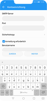 Huawei Honor Play - E-Mail - Konto einrichten - Schritt 14