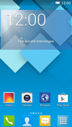 Alcatel OT-5036X Pop C5 - Applicaties - Account aanmaken - Stap 1
