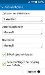 Samsung Galaxy Core Prime - E-Mail - Konto einrichten - 19 / 25