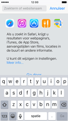 Apple iPhone SE (iOS 9) - internet - hoe te internetten - stap 3