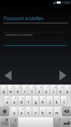 Alcatel Idol S - Apps - Konto anlegen und einrichten - 11 / 25