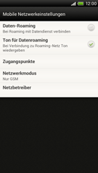 HTC One X - Netzwerk - Netzwerkeinstellungen ändern - 7 / 7
