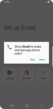 Samsung Galaxy S9 - Android Pie - E-mail - 032c. Email wizard - Outlook - Step 11