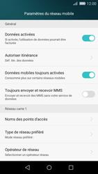 Huawei P8 Lite - Internet - Désactiver les données mobiles - Étape 5