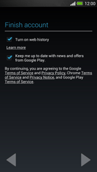 HTC One - Applications - Setting up the application store - Step 12