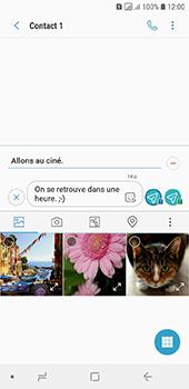 Samsung Galaxy A6 - Contact, Appels, SMS/MMS - Envoyer un MMS - Étape 15