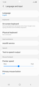 Samsung Galaxy Note 20 5G - Getting started - How to add a keyboard language - Step 6
