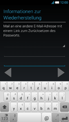 Alcatel Idol S - Apps - Konto anlegen und einrichten - 15 / 25