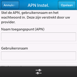 BlackBerry Q10 - Internet - handmatig instellen - Stap 10