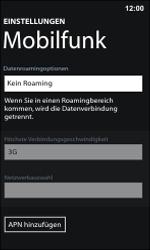 Nokia Lumia 800 / Lumia 900 - MMS - Manuelle Konfiguration - Schritt 8