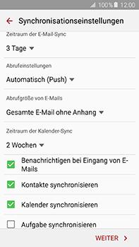 Samsung Galaxy A8 - E-Mail - 032c. Email wizard - Outlook - Schritt 9