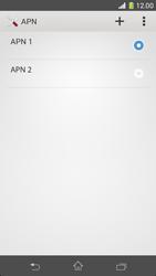 Sony Xperia Z1 Compact - Internet e roaming dati - Configurazione manuale - Fase 17