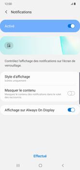 Samsung Galaxy Note10 Plus - Sécurité - activéz le code PIN de l'appareil - Étape 11