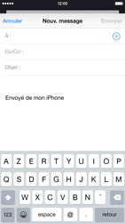 Apple iPhone 6 iOS 8 - E-mails - Envoyer un e-mail - Étape 4