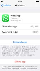 Apple iPhone SE - iOS 11 - Applicazioni - Come disinstallare un