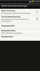 HTC One S - Internet und Datenroaming - Deaktivieren von Datenroaming - Schritt 6