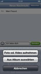 Apple iPhone 5 - MMS - Erstellen und senden - Schritt 11