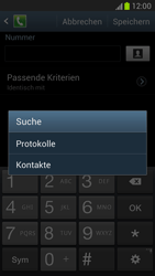 Samsung N7100 Galaxy Note 2 - Anrufe - Anrufe blockieren - Schritt 9
