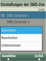Samsung F480-TouchWiz - SMS - Manuelle Konfiguration - Schritt 12