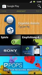 Sony Xperia Sola - Apps - Konto anlegen und einrichten - 18 / 19
