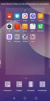 Huawei Y7 (2018) - Startanleitung - Installieren von Widgets und Apps auf der Startseite - Schritt 6