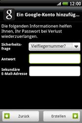 HTC A510e Wildfire S - Apps - Konto anlegen und einrichten - Schritt 12