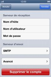 Apple iPhone 4 - E-mail - configuration manuelle - Étape 17