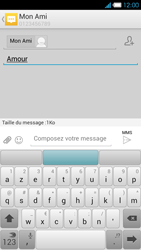 Bouygues Telecom Ultym 4 - Contact, Appels, SMS/MMS - Envoyer un MMS - Étape 11