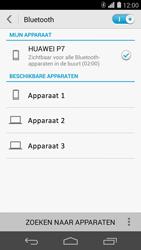 Huawei Ascend P7 - Bluetooth - headset, carkit verbinding - Stap 6
