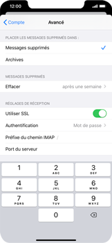 Apple iPhone XS Max - iOS 13 - E-mail - Configuration manuelle - Étape 26