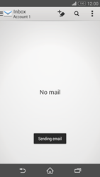 Sony D6603 Xperia Z3 - E-mail - Sending emails - Step 15