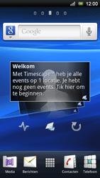 Sony Xperia Ray - Internet - Automatisch instellen - Stap 3