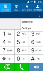 Samsung J100H Galaxy J1 - Voicemail - Manual configuration - Step 5
