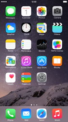 Apple iPhone 6 Plus - iOS 8 - Getting started - Personalising your Start screen - Step 3