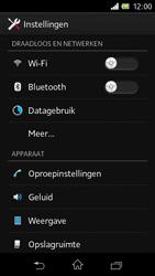 Sony C1905 Xperia M - Internet - aan- of uitzetten - Stap 4