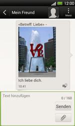 HTC One V - MMS - Erstellen und senden - 17 / 18