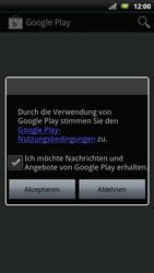 Sony Ericsson Xperia X10 - Apps - Konto anlegen und einrichten - Schritt 17