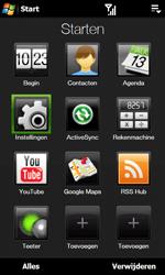 HTC T7373 Touch Pro II - bluetooth - aanzetten - stap 3