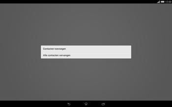 Sony Xperia Tablet Z2 4G (SGP521) - Contacten en data - Contacten kopiëren van toestel naar SIM - Stap 9