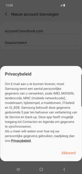 Samsung Galaxy S10 Plus - E-mail - handmatig instellen (outlook) - Stap 13