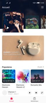 Huawei P40 Lite 5G - Photos, vidéos, musique - Ecouter de la musique - Étape 6