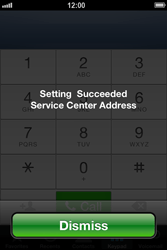 Apple iPhone 4 S iOS 6 - SMS - Manual configuration - Step 7