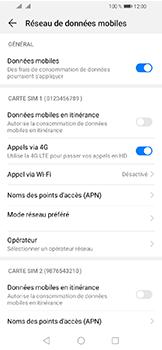 Huawei Y6 (2019) - Aller plus loin - Désactiver les données à l'étranger - Étape 6