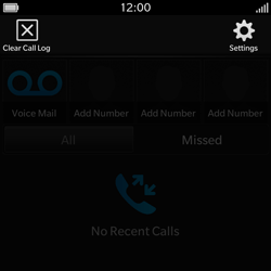 BlackBerry Q10 - Voicemail - Manual configuration - Step 5