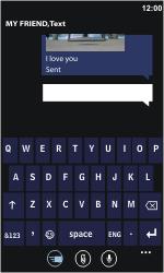 Nokia Lumia 710 - MMS - Sending pictures - Step 10