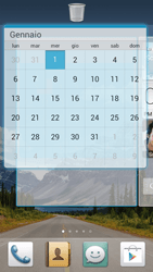 Huawei Ascend G526 - Operazioni iniziali - Installazione di widget e applicazioni nella schermata iniziale - Fase 9