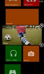 Nokia Lumia 820 / Lumia 920 - Startanleitung - Personalisieren der Startseite - Schritt 9